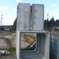 Galeria de concreto 2,00x2,00 m